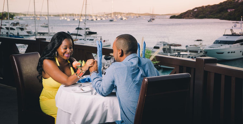 Restaurants Bars 8 Caravela Restaurant Located On Scrub Island