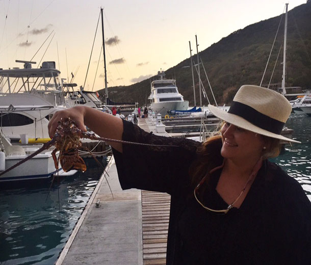Grilled Anegada Lobster Recipe